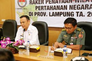 Kemenhan dan Pemprov Lampung Bahas Rencana Wilayah Pertahanan
