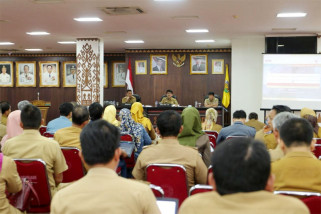 Pejabat Eselon II Pemprov Lampung Ikuti Pemutakhiran LHKPN