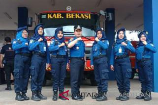 Empat mobil damkar Bekasi siaga saat Asean Games
