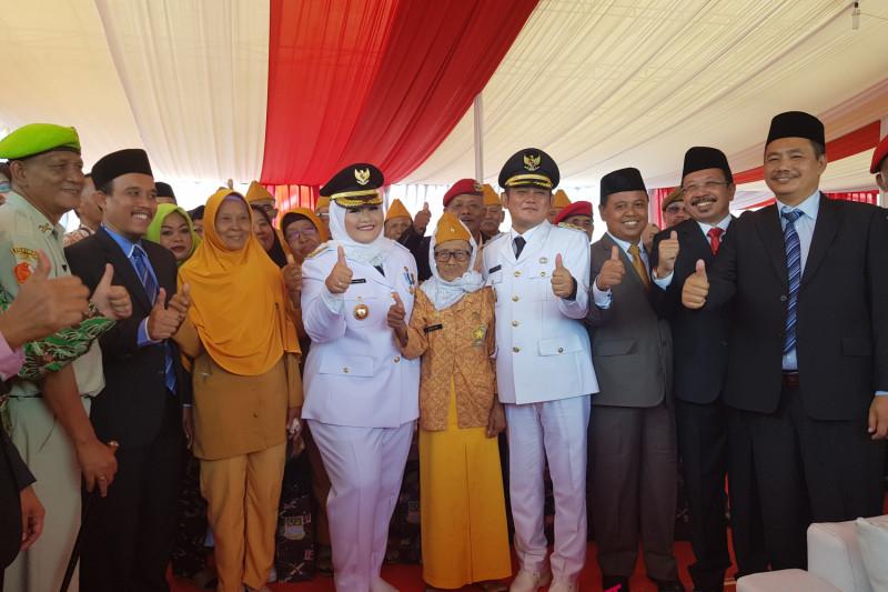 Bupati harap veteran Bekasi tularkan semangat juang