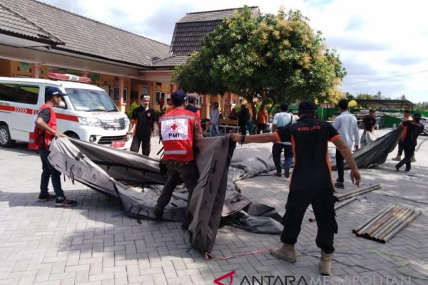 Senin pagi masih terjadi gempa di Lombok