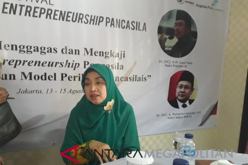 Universitas Pancasila menggagas konsep Entreprenuership Pancasila