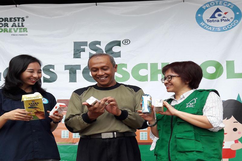 FSC Indonesia programkan pendidikan lingkungan bagi pelajar