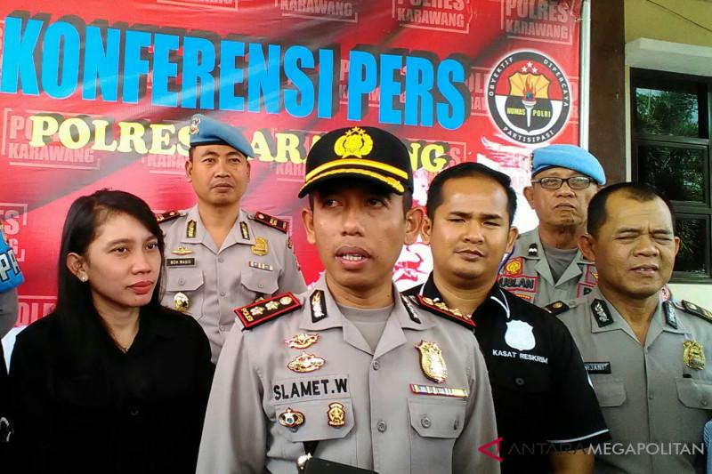 Motif pembunuhan bocah SD Karawang diungkap