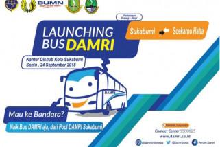 Dishub tetapkan tarif Damri Sukabumi-Bandara Rp100 ribu