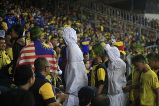 Pocong Indonesia hadir di Stadion Bukit Jalil