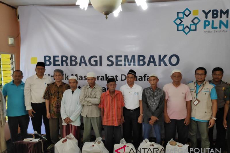 PLN Bogor salurkan 1.000 paket sembako