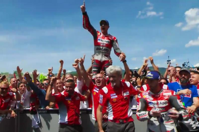 Jorge Lorenzo pamitan dengan Ducati?