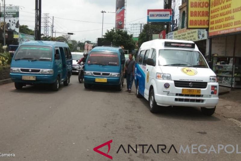 Pengoperasian angkot modern Bogor tunggu kesepakatan sopir