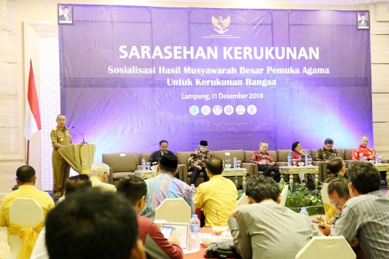 Provinsi Lampung Tuan Rumah Mubes Pemuka Agama