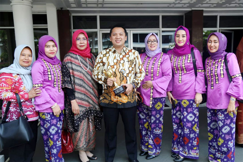 Gubernur Lampung Ridho Ficardo Terima Parahita Ekapraya Ketiga Kalinya