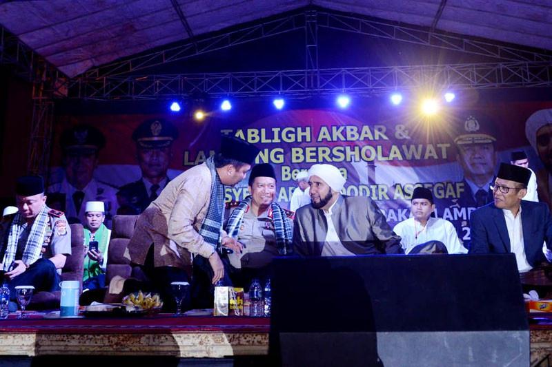 Lampung Bersholawat Songsong Pemilu 2019 Yang Sejuk