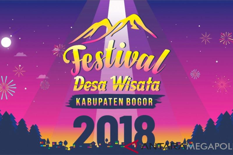 Disbudpar Bogor gelar Festival Desa Wisata