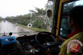 Polisi tahan pelempar bus di Aceh Timur