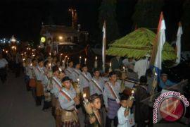Ribuan warga Lhokseumawe meriahkan takbiran Idul Adha