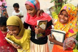 Pendidikan Bocah Rohingya