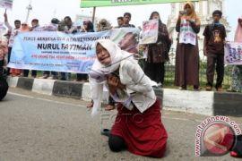Keluarga anak korban pelecehan tuntut keadilan