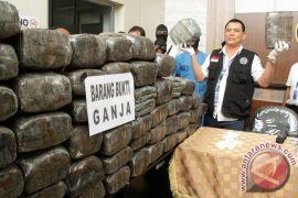 BNN menggagalkan penyeludupan 140,7 kg ganja