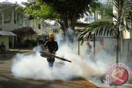Asrama TNI di Lhokseumawe Difogging