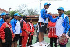 Sabang dominasi perolehan medali tenis Popda XIV