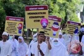 Ribuan pelajar Aceh Barat pawai ta'aruf