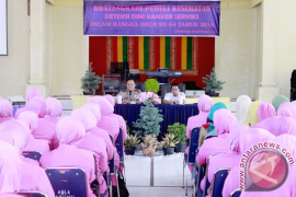 Wanita Aceh Selatan jalani pemeriksaan kanker serviks