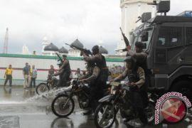 Simulasi Penanganan Kerusuhan Pilkada Aceh