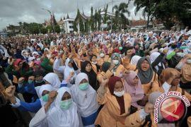 HMI unjuk rasa ke DPRK Aceh Utara