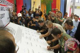 Deklarasi Berintegrasi Damai Cagub-Cawagub Aceh