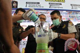 Polresta Banda Aceh musnahkan 344,56 gram sabu