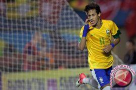 Brazil vs Meksiko jadi panggung Neymar