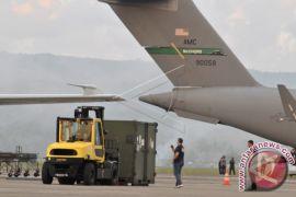 Perbaikan pesawat militer AS di Aceh selesai