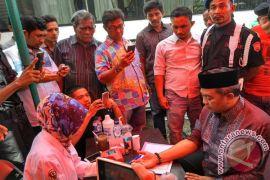 Satgas PA Aceh Barat donor darah sambut bulan puasa