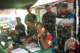 Kodim Aceh Barat latihan hadapi bencana banjir