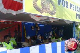 Arus mudik - Kapolda Aceh tinjau pos pengamanan lebaran