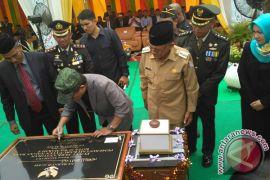 Gubernur resmikan perkantoran Pemkab Nagan Raya