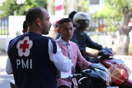 PMI Lhokseumawe gelar pelatihan penyelamatan di ketinggian