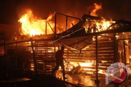Kebakaran Rumah Warga Aceh Utara
