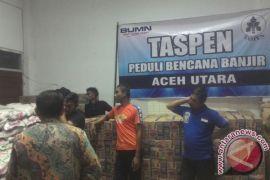 PT Taspen salurkan batuan untuk korban banjir