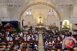 Ibadah umat Kristiani di Lhokseumawe berjalan lancar