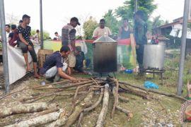 Pemko Subulussalam bangun dapur untuk korban banjir