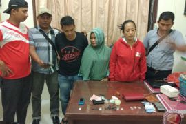 Polisi Singkil tangkap wanita pengedar  sabu