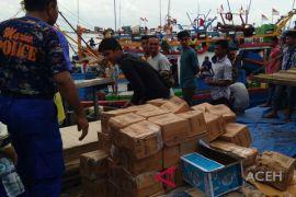 Polda Aceh gagalkan penyelundupan bawang merah