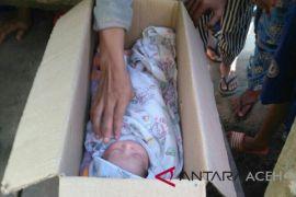 Warga Lhokseumawe temukan bayi dalam kotak