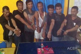 Polres Aceh Utara bekuk kawanan pemakai narkoba