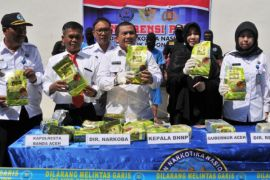 Wagub Aceh apresiasi bnn terkait penyeludupan sabu
