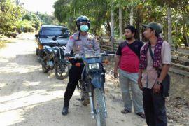Polisi patroli ke pedalaman sterilkan guankamtibmas