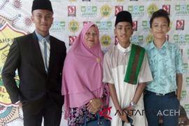 SMPN 3 Langsa juara Hifdzil, Syahril dan Nasyid