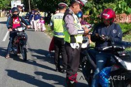 Satlantas Aceh Barat klaim pelanggaran menurun