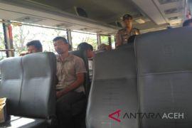 14 penambang emas dibawa ke Polda Aceh